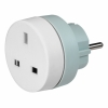 Adaptador Conversor UK-Europa Legrand 13/16A Blanco