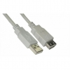 Cable Alargador USB 2.0 NanoCable 1.8 Metros