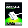 Cable Duracell Conector 30 Pin a USB 1M Blanco