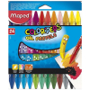 Estuche 24 Ceras Blandas Maped Color Peps
