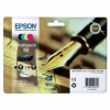 Multipack Tinta Epson T16 Color + Negro