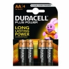 Pack 4 Pilas Duracell Plus Power AA Alcalinas