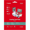 Papel Fotografico Canon GCP-101 Greeting Card Pack 10 Hojas 10x15CM
