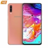 "Movil Samsung Galaxy A70 6.7"" Oc 128GB 6GB Ram Android 4G Dual Sim Coral"
