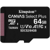 Tarjeta MicroSD XC Kingston Canvas Select Plus 64GB
