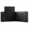 Teclado Mini Leotec Bluetooth Plegable Bateria Recargable Negro