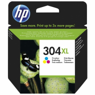 Tinta HP 304XL Color