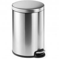 Papelera Durable Pedal Bin Stainless Steel 20/ Plata