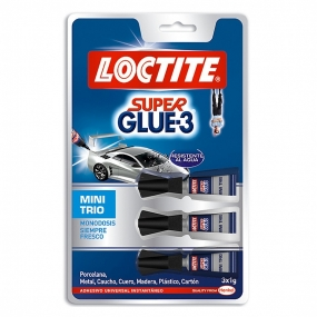 Adhesivo Instantaneo Loctite Superglue-3 Mini Trio