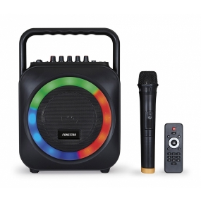 Altavoz Portatil Fonestar BOX-35LED Bluetooth Karaoke 35W