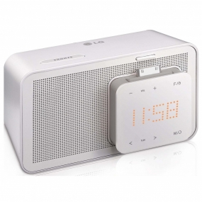 Altavoz LG ND1520 Base iPod/iPhone Pantalla de Reloj