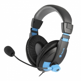 Auriculares con Microfono NGS Headset MSX9 Pro Blue
