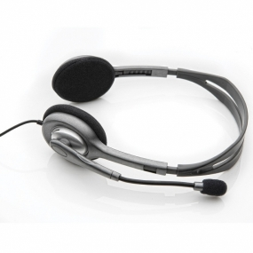 Auriculares Logitech Stereo Headset H110