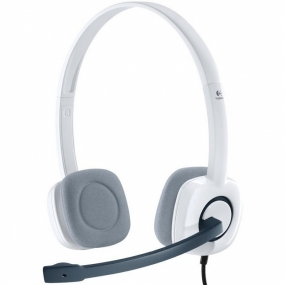Auriculares Logitech Stereo Headset H150 Blanco