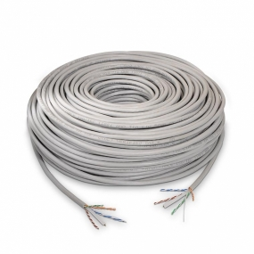 Bobina de Cable NanoCable Categoria 5 FTP 305 Metros