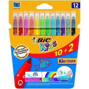 Caja 12 Rotuladores BIC Kid Couleur