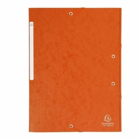 Carpeta ExaClair Carton A4 Naranja