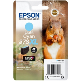 Cartucho Tinta Epson 378XL Claria Photo HD 10.3ML Cian