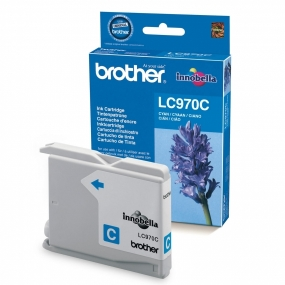 Cartucho Brother LC970C Cian