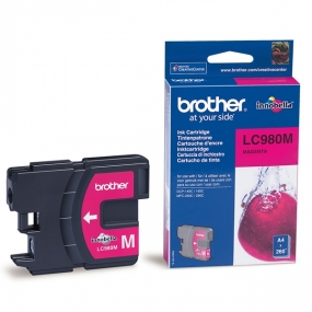 Cartucho Brother LC980M magenta