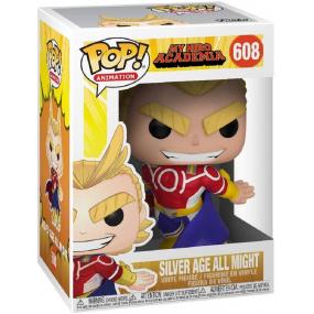 Funko POP! All Might Animation: My Hero Academia S3 (Silver Age)