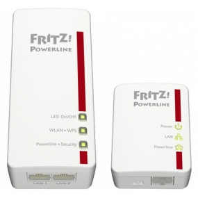 Kit Powerline Fritz! 540E 500Mbps 2 Uds.
