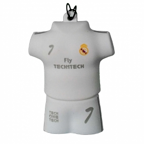 Memoria USB Tech1Tech Camiseta Blanco Merengue 16GB