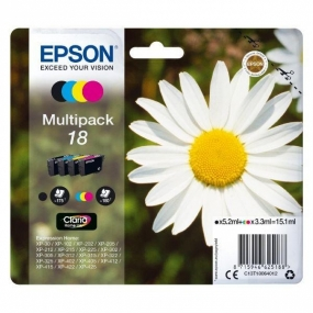 Multipack Tinta Epson 18 Color + Negro