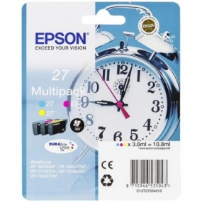 Multipack Tinta Epson 27 Color