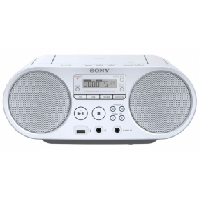 Radio CD Sony ZS-PS50 Boombox Blanco