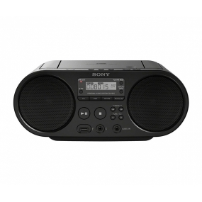 Radio CD Sony ZS-PS50 Boombox Negro