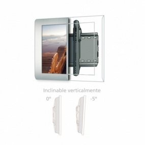 "Soporte De TV Fonestar STV-660N 32"" a 55"" Inclinable"