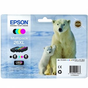 Tinta Epson 26XL Multipack 4 Colores