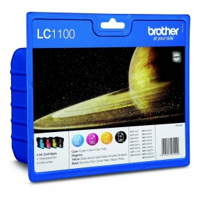 Tinta Brother LC1100 Color + Negro