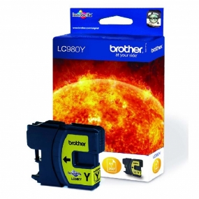Tinta Brother LC980 Amarillo