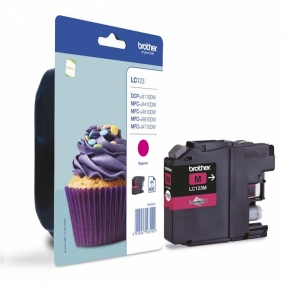 Tinta Brother LC-123 Magenta