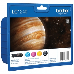 Tinta Brother LC-1240 Value Pack Color