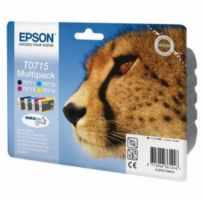 Tinta Epson T0715 Color + Negro