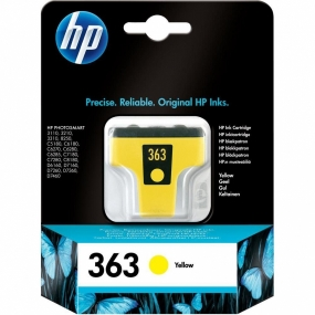 Tinta HP 363 Amarillo