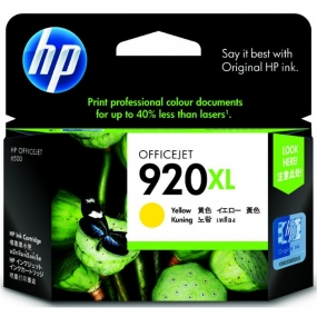 Tinta HP 920XL Amarillo