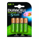 Pack 4 Pilas AA Recargables Duracell HR06-P