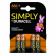 Pack 4 Pilas Duracell Simply AAA Alcalinas